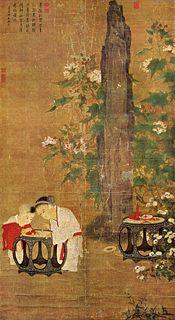 Niños jugando, por el artista chino Su Hanchen de la Dinastía Song, c. 1150