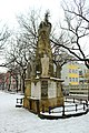 Subotica, Trg žrtava fašizma, sloup svaté trojice.jpg
