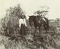 Successful wild boar hunt, Blackall district, 1908 (6876340102).jpg