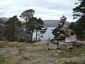Summit cairn, Keldas - geograph.org.uk - 1171995.jpg