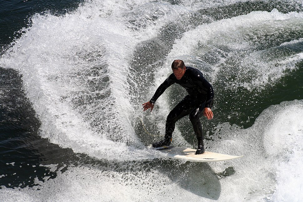 Surfer in california 2