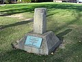 Susquehanna and Waterford Turnpike milestone in Clarion.jpg