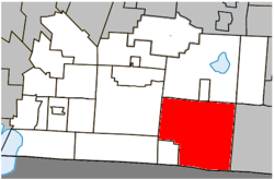 Location within Brome-Missisquoi RCM.
