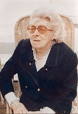 Suzanne Lilar in the 1980s