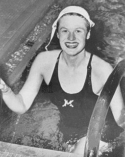 Suzanne Zimmerman American swimmer