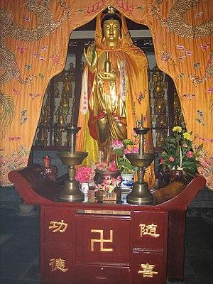 Hanshan Temple - Statue in Hanshan Temple