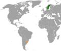 Sweden Uruguay Locator.png