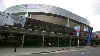 Sydney Entertainment Centre - Exterior view of the venue (c.2015)