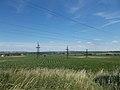Távvezeték oszlopok, Szigeti-földek, déli külterület, 2017 Bicske.jpg