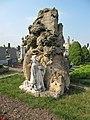 Těšetice (OL), hřbitov, náhrobek rodiny Střídovy.jpg
