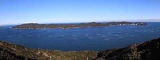 Tōshijima - Tōshijima from Sugashima