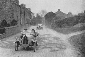 T.B. (Thompson Brothers) - T.B. cyclecar competing in the 1920 M.C.C. London to Edinburgh Trial.