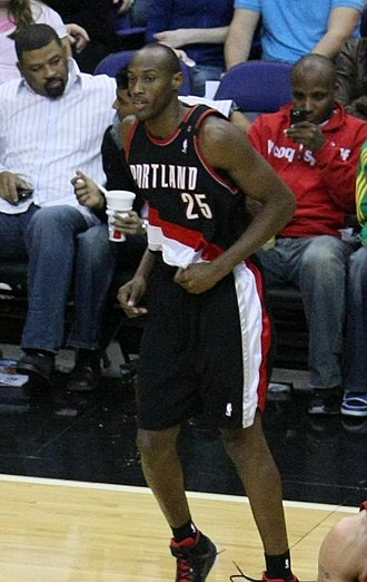Travis Outlaw - Outlaw in 2008 with the Trail Blazers