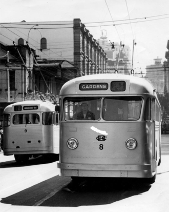 Trolleybuses in Brisbane - New Brisbane trolleybuses, 1951.