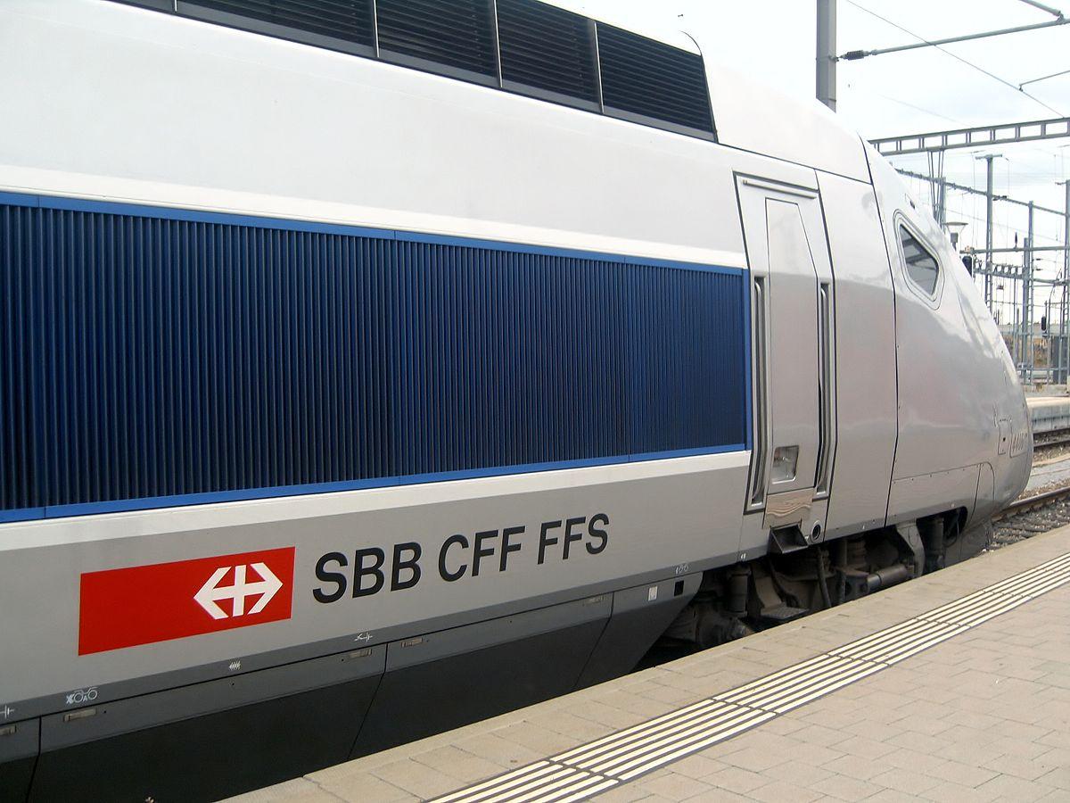 Ferrocarriles Federales Suizos - Wikipedia, la enciclopedia libre