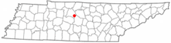 Location of Rural Hill, Tennessee