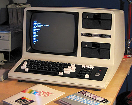TRS-80 Model 4 (standard version) TRS-80 Model 4 (modified).jpg