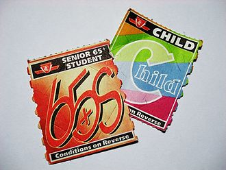 Toronto Transit Commission fares - TTC Senior/Student and Child tickets from 2009