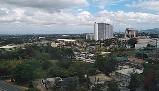 Tagaytay City in Cavite, Philippines