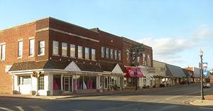 Tahlequah, Oklahoma - Downtown Tahlequah