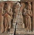 Tall circular Buddhist temple, Early 1st Century CE - Mathura - ACCN 00-M3 - Government Museum - Mathura.jpg