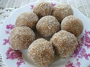 English: Tamarind balls from Trinidad and Tobago