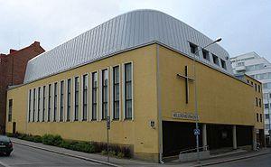 Tampereen helluntaiseurakunnan rukoushuone Saalem