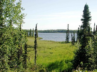 Tanaina, Alaska - Image: Tanaina lake