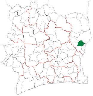 Tanda Department Department in Zanzan, Ivory Coast