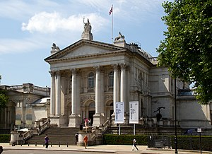 Turner Prize - Tate Britain: venue for the awarding of the Turner Prize.