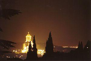 English: Nighttime Panorama