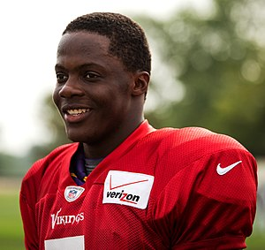 Teddy Bridgewater - Bridgewater during 2014 training camp