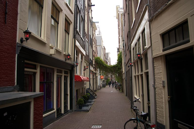 В прошлом году в Амстердаме было зарегистрировано 1289 грабежей