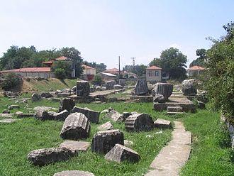 Tegea - The temple of Athena Alea at Tegea