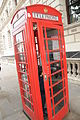 Telephone box in the City of Westminster.JPG