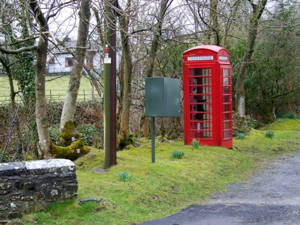 Telephone kiosk, Cowgill.jpg