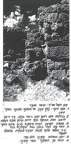 Tell Megiddo 2006 Preservation plan -5.jpg