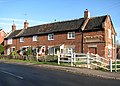 Terraced cottages by the junction of The Street and the B1527 - geograph.org.uk - 1602272.jpg