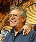 El actor británico Terry Jones