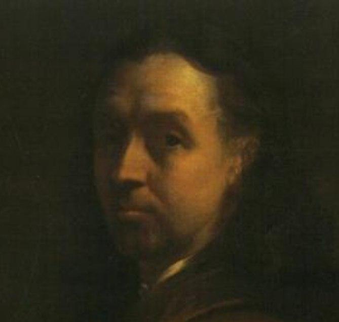 Terwesten Augustin Selbstportrait