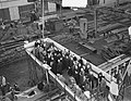 Tewaterlating vrachtschip Artenis door mevrouw dAilly, Bestanddeelnr 906-1566.jpg