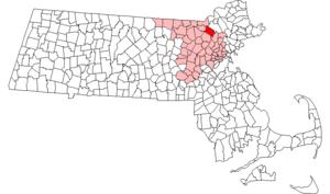 Tewksbury, Massachusetts - Image: Tewksbury ma highlight