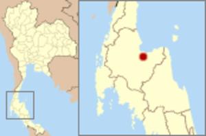 Surat Thani - Image: Thailand Mueang Surat