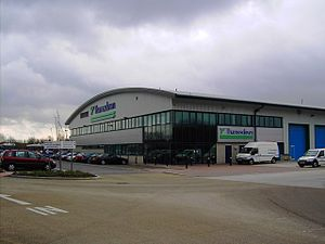 Thamesdown Transport - Depot on Barnfield Road in March 2007