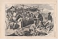 Thanksgiving in Camp (Harper's Weekly, Vol. VII) MET DP875226.jpg