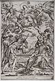 The Assumption of the Virgin. Etching by G.M. Mitelli after Wellcome V0034541.jpg