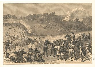 Battle of Harlem Heights - Image: The Battle of Harlem Heights, September 16, 1776 (NYPL b 12610613 424867)
