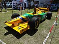 The Benetton B193 at Jersey International Motor Festival (47981161427).jpg