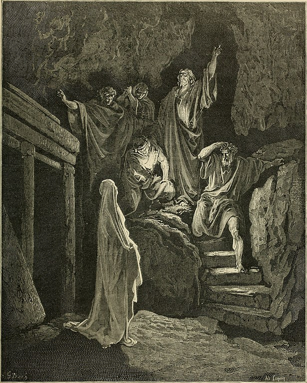 나사로의 부활 (귀스타브 도레, Gustave Dore, 1866년)