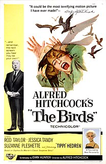 <i>The Birds</i> (film) 1963 film by Alfred Hitchcock